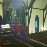 Patrick Byrne, organ, wedding gig,St. John's Chapel, Dekoven Center, Racine, Wisconsin