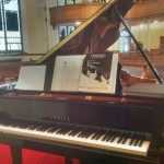 Patrick Byrne, piano, wedding gig, St. Marcus Church, Milwaukee, Wisconsin