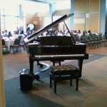 Patrick Byrne, piano, wedding gig, University of Wisconsin-Parkside, Racine, Wisconsin