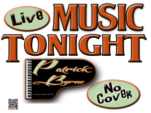 Live performances, Wedding Music, Patrick Byrne, Piano, Wine Bar, Romantic