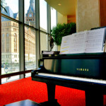 Patrick Byrne has played piano at the Marcus Center for the Performing Arts
