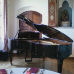 Patrick Byrne has played piano at the Villa Terrace Decorative Arts Museum