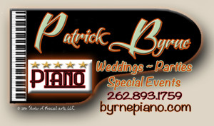 Patrick Byrne, Five-star piano, weddings, parties, special events